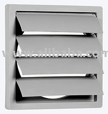 Air Louvre Diffuser Gravity Louver Louvred Grill Vent Duct