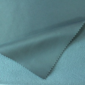 Soft super poly velvet fabric for garment uniform upholstery material