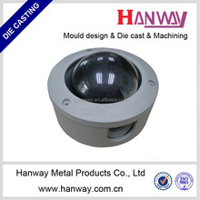 China OEM aluminum outdoor cctv camera housing security camera cover