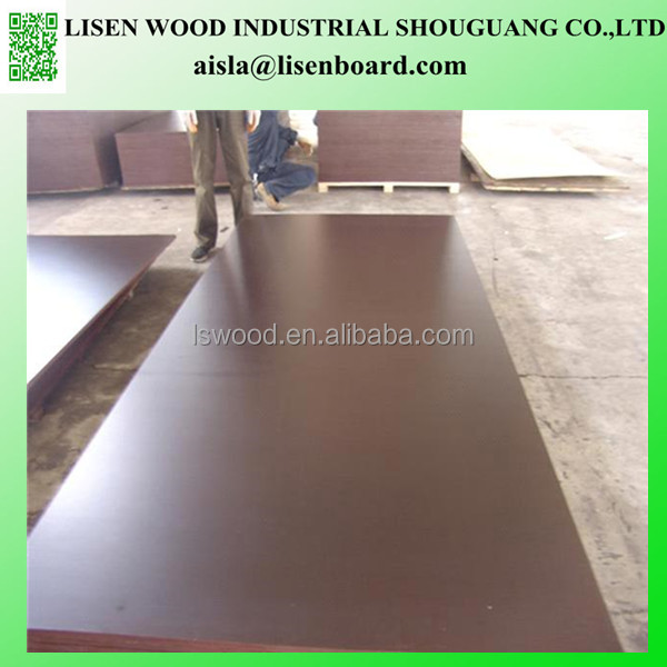 12mm 18mm shuttering film faced plywood, mix hardwood film faced plywood