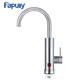 Fapully Kitchen Stainless Steel Brushed electric instant heating water faucet