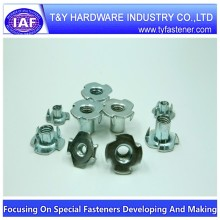 Stainless steel A2 T nuts 10mm