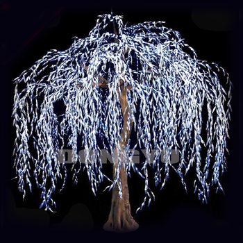 10 Foot 4096 Light High Artificial Cool White Led Weeping Willow Tree Buy Led Weeping Willow Tree Led Lighted Willow Christmas Tree Artificial Willow Light Tree Product On Alibaba Com