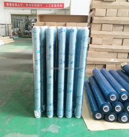 Crystal Soft Super Transparent PVC Film Plastic Sheet in Roll