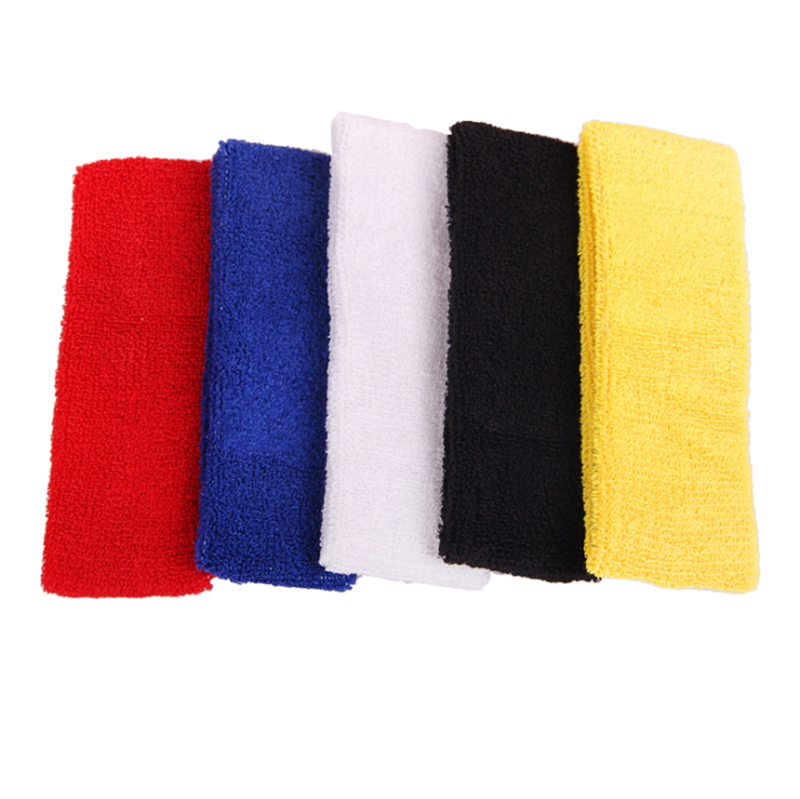 Wholesale Sport Cotton Funny Customized Embroidery Sweatband