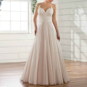Lace Ivory Appliqued A Line Sexy Halter Europe Style Hongkong Wedding Groom Dress Wedding Dresses
