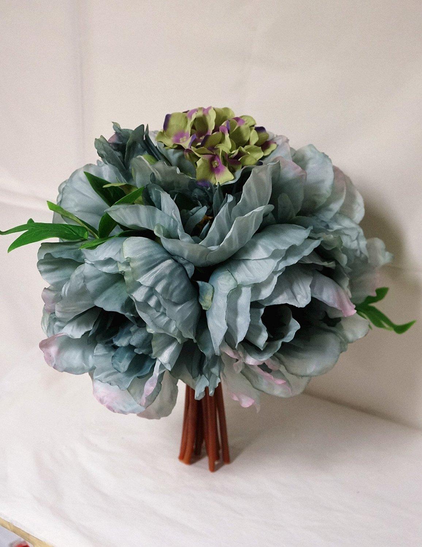 Buy Sweet Home Deco 12 Extra Large Peony And Hydrangea Silk