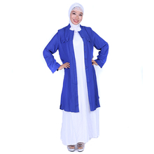 Islamic women's clothing office muslim coats ladies fashion design