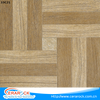 Lowest price ceramic tiles 30X30 Size wooden woven Pattern Design Square Interior Floor Tile