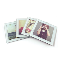 Tempered Glass Photo Frame Coasters