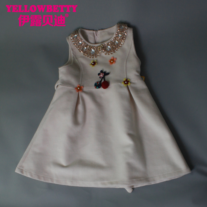 2016 Wholesale children girl's dress child dress kids latest fashion dress design