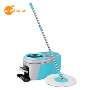 Witorange selling 4 drives 360 Tornado Floor Cleaning Mop with Easy Wring mop Foot Pedal Bucket