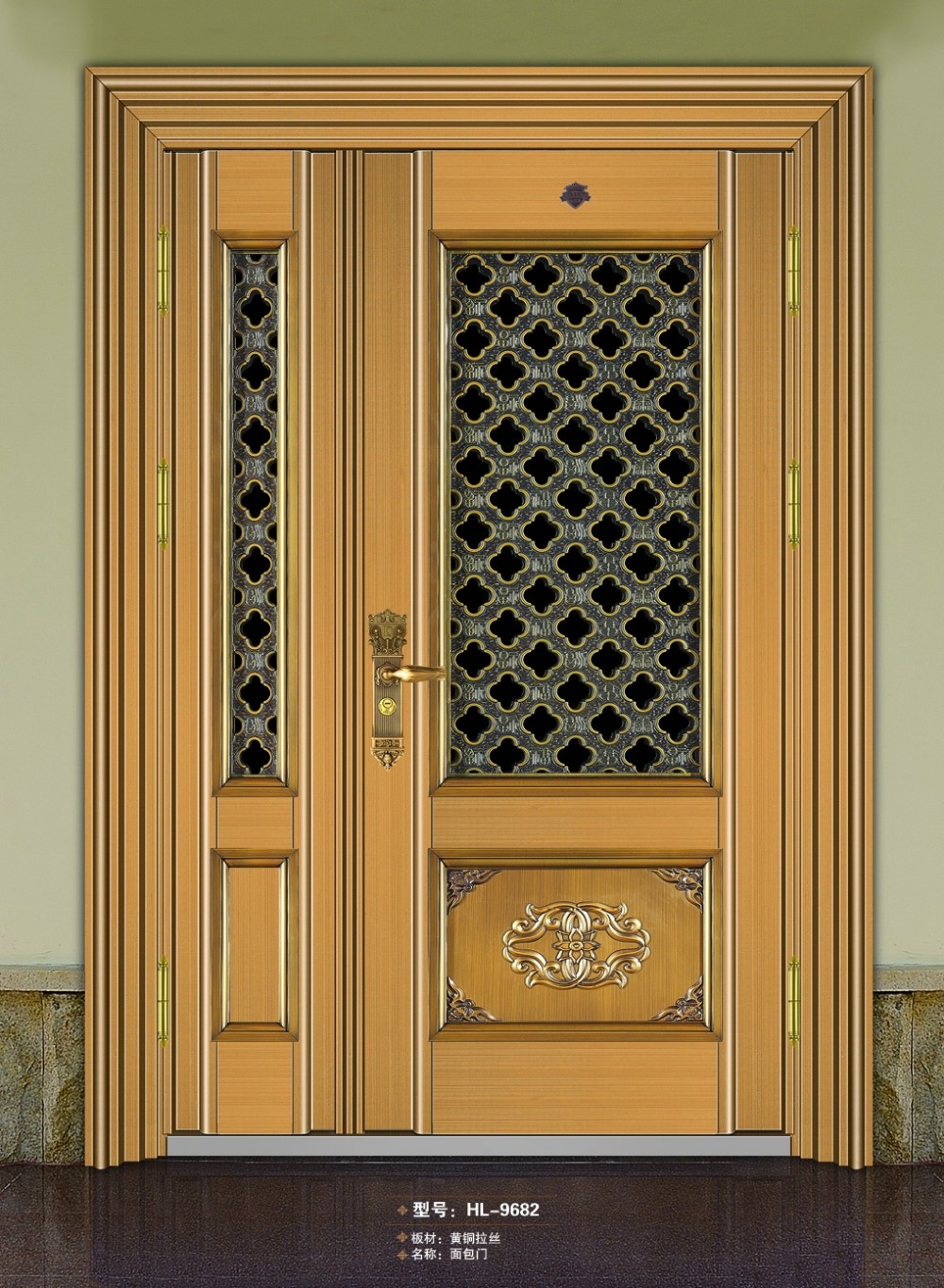 Security Storm Doors Product : Stainless steel storm security design doors bread door