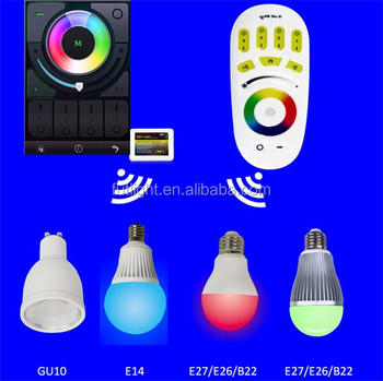 Wifi Color Changing 2.4g Rf Dimmable E11 Led Light Bulb Popular In ...