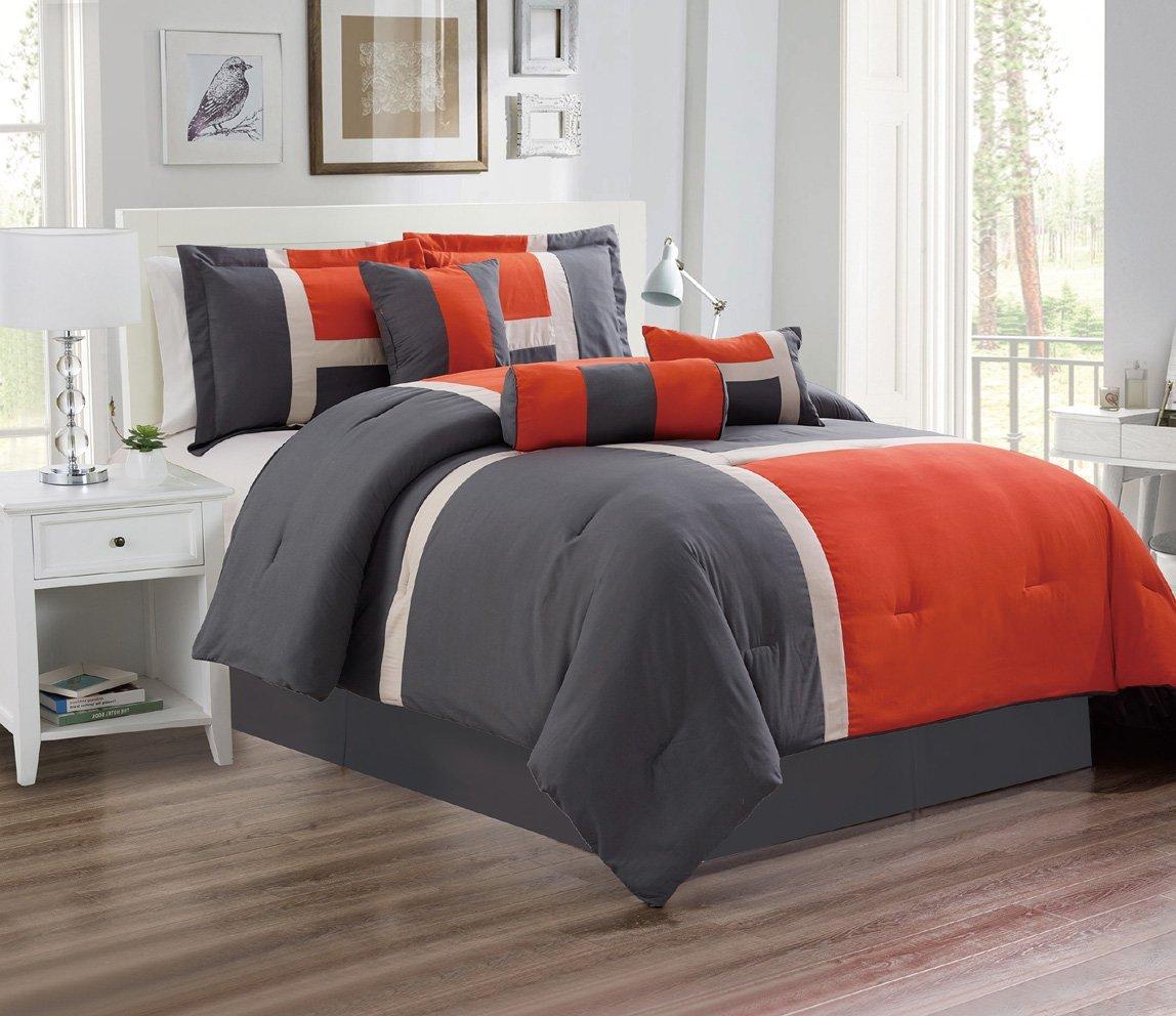 Cheap Orange And Grey Comforter Find Orange And Grey Comforter Deals On Line At Alibaba Com