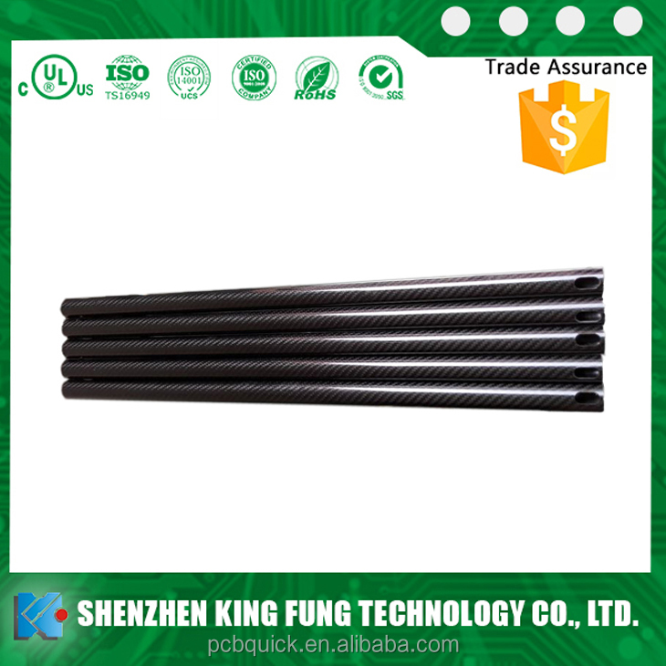 Professional custom carbon fiber tube carbon fiber tube connectors