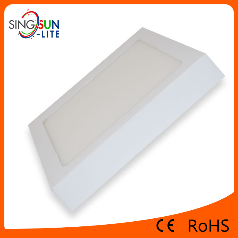 alibaba hot sales led lights 3w 6w 12w 18w 24w led panel light AC85-265V panel high lumens led panel light with ce rohs