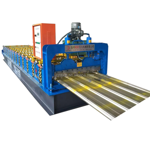 2018 High speed Innovative high rib steel sh king profile cold roll forming machines