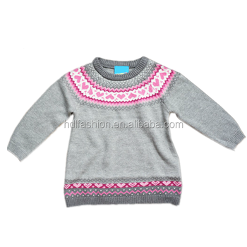 Wholesale Baby Knitted Clothes Jacquard Pattern Sweater Buy