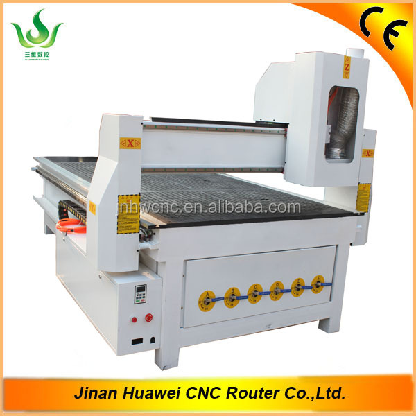 SW-1325 china cnc router wood carving machine price with vacuum table for 3d relief engraving