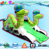 inflatable double snakes slider, small inflatable slide for children's party rental