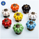 Wholesale Furniture Cabinet Knobs Colorful Ceramic Porcelain Knobs
