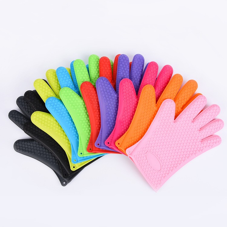 Silicone Heat Insulation For Kitchen Microwave Oven Gloves