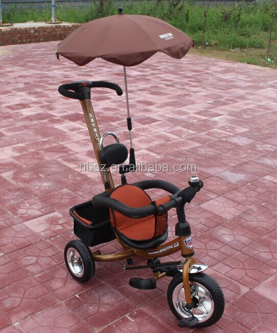 2015 new design safe baby tricycle with push car Child tricycle / three wheels kid Tricycle