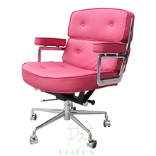 Popular professional online wholesale funky office chairs pink color
