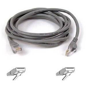 "Belkin, Patch Cable Rj-45 (M) Rj-45 (M) 4 Ft Utp Cat 5E Gray B2b For Omniview Smb 1X16, Smb 1X8, Omniview Ip 5000Hq, Omniview Smb Cat5 Kvm Switch ""Product Category: Supplies & Accessories/Network Cables"""