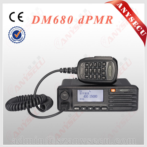 police scanner radio Mobile Car Radio Kirisun DM680 Supported GPS Location Service