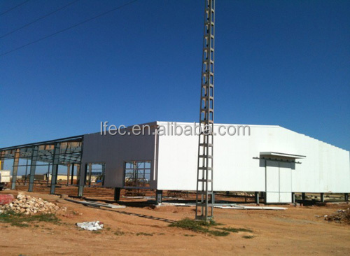 Light Weight prefabricated building construction workshop