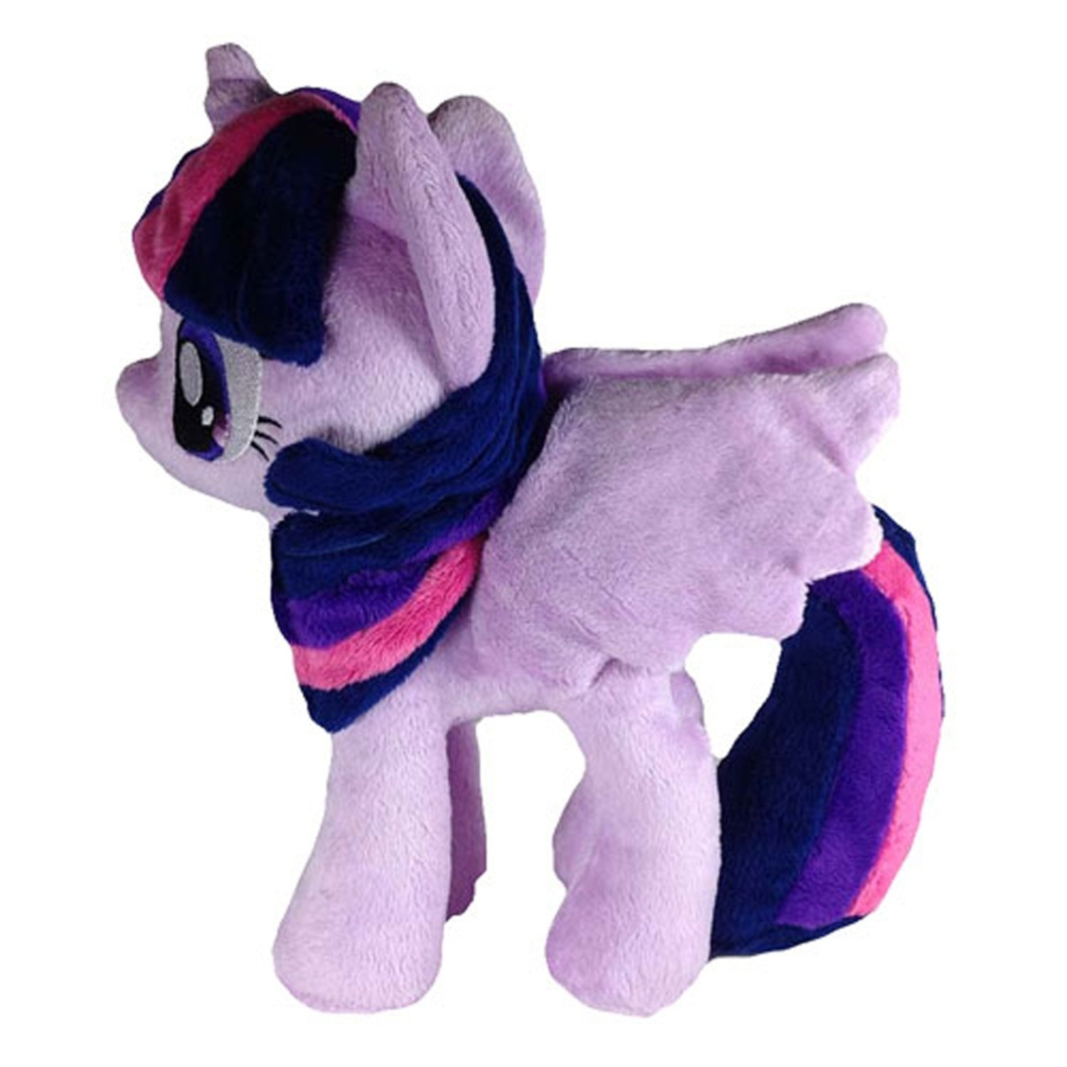 Get Quotations · 4th Dimension My Little Pony - Twilight Sparkle - Open  Wings Plush Toy 88a554b017d4
