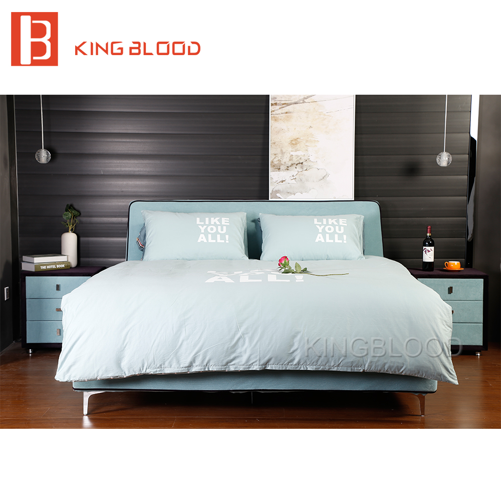 Hotsale promotion modern queen size <strong>bed</strong> with dimensions for bedroom furniture