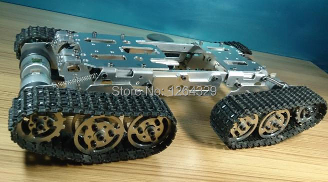 Death is only the beginning Obstacle-surmounting-tank-car-chassis-model-crawler-4WD-smart-tank-car-chassis-for-DIY-Mounting-interface