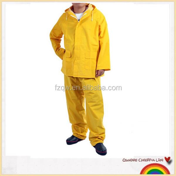 kein Gummi gelb Overall Regenanzug Suit 100/% PVC