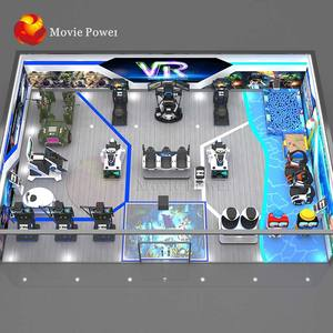 Indoor Playground Kids Entertainment Equipment 9D Virtual Reality Vr Theme Park Racing Game Equipment