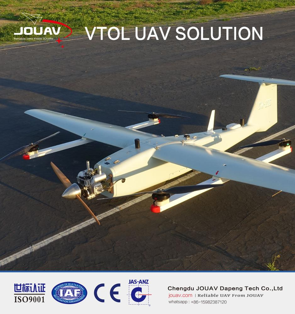 VTOL Fixed Wing 3D Mapping Aerial Geological Survey UAV