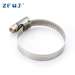 Cheap price standard small stainless steel band germany hose clamp