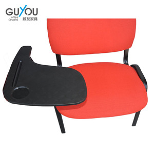 Anji guyou Tablet Meeting chair school chair with writing pad