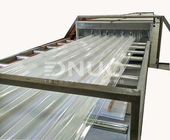 fiberglass anti-uv composite panel machine