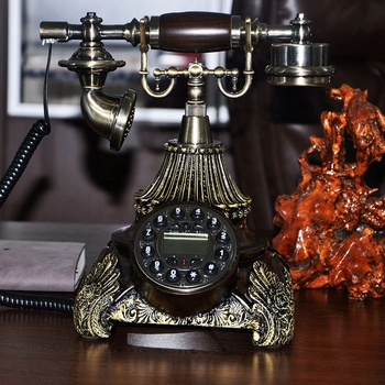 Antique / Retro Corded Phone Landline Fashion Telephone for Home Hotel