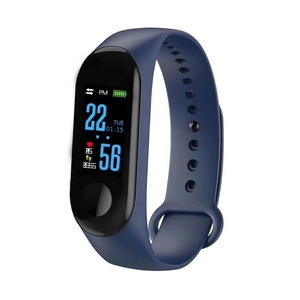 Custom Made Heart Rate Fitness Tracker smart bracelet m3c