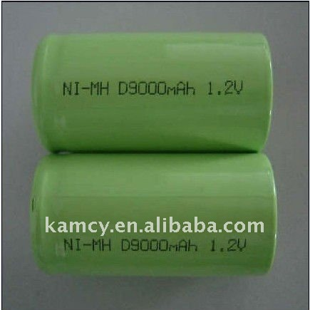 Rechargeable Battery NiMh D9000 1.2V