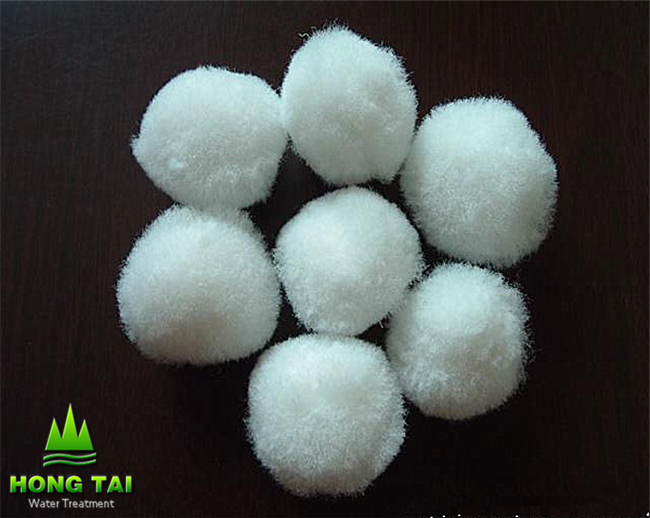 Fiber Ball Stuffing Media use for water treatment