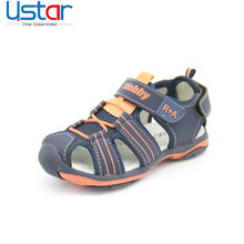 Wholesale china shoes kids breathable outdoor closed toe boys sport sandals for children shoe