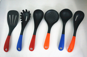Made In Korea Products,Nylon Kitchen Utensil,Heat Resistant Silicon  Handles,Buffet Utensils,Non-stick Cookware Set - Buy Made In Korea ...