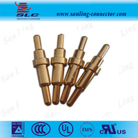 Brass Spring Loaded electric Contact Pogo Pin