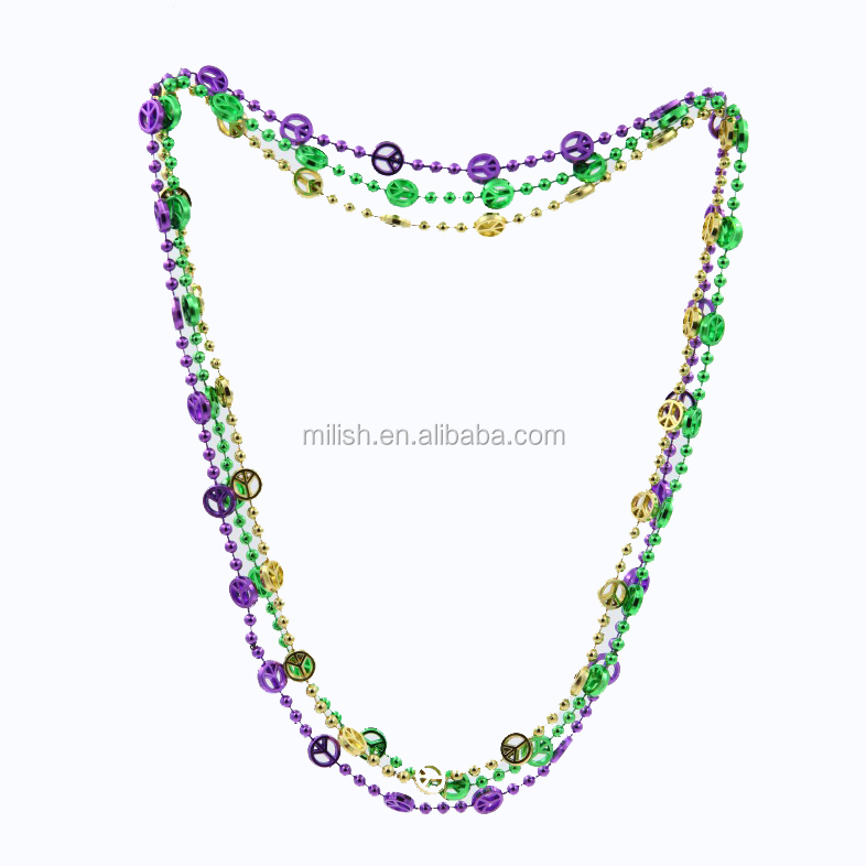 HH-0572 wholesale Party mardi gras beads necklace