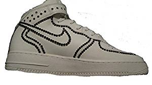 new arrival dbdcd cd463 Get Quotations · custom nike air force one sneakers 8.5
